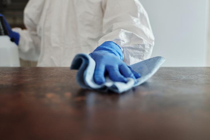 Korrapärane märgpuhastus hävitab kõiki viirusi, mitte ainult koroonaviirust